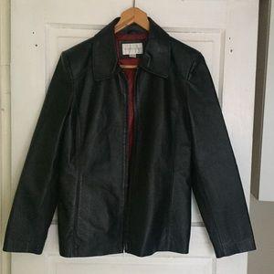 Everything BOGO Free 🌈 Real Black Leather Jacket